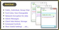 Net Chat - Advanced Inter Network Colorful Chat