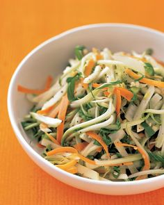Bok Choy, Carrot, and Apple Slaw Recipe from @Everyday Food