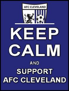 Keep Calm Support AFC Cleveland Soccer. #NPSL