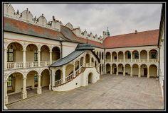 Castle in Baranow Sandomierski, Poland