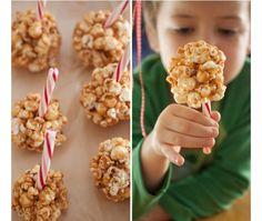 Les enfants (et les grands aussi...) adorent les sucettes et avec ces sucettes au popcorn et au marshmallow, vous êtes assuré de leur faire plaisir ! Ell