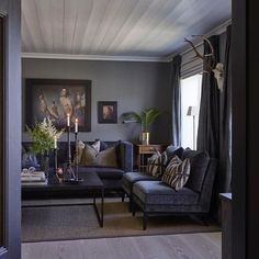 Home of Halvor Bakke, Norwegian designer My Living Room, Living Room Decor, Living Spaces, Living Room Inspiration, Interior Inspiration, Home Interior Design, Interior Decorating, Room Interior, Decorating Ideas