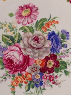 the catalog of china products Art Floral, Motif Floral, Flower Patterns, Flower Designs, India Art, China Painting, Flower Pictures, Porcelain Ceramics, Botanical Art