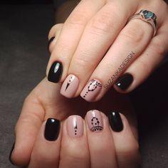 "Polubienia: 14, komentarze: 1 – SuzankaDesign (Zuza Popiela) (@suzankadesign) na Instagramie: ""Pinterest ""Arabian Nails"" inspiration #suzankadesign #neonail #pureblack #misteromilano…"""