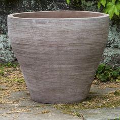 Muslin 3 Piece Round Pot Planter Set