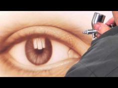 AIRBRUSH SPECIAL: FREE! HOW TO AIRBRUSH AN EYE, STEP-BY-STEP with JAVIER SOTO - YouTube