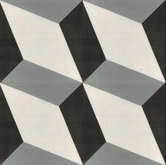 Josef - Cementowe płytki podłogowe dostępne od ręki (komplet)