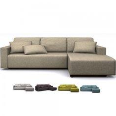 Canapé d'angle en tissu - Achat/Vente canapés d'angle en tissu - Canapé design