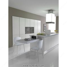 kitchen island with slide out table - Google Search