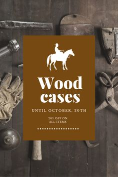 20% OFF at any order. Take a look at our beautiful real wood cases.