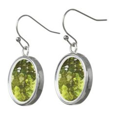 Spring Shadows ~ Reflections in the shade. Earrings