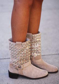 Studded Boots.