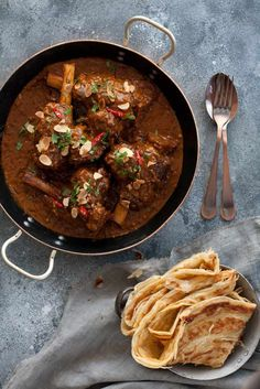 Rogan Josh Lamb Shank Curry