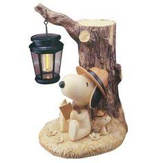 Snoopy & Woodstock Garden Light