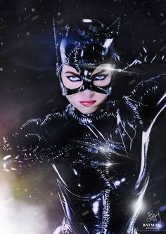 Michelle Phifer in BATMAN RETURNS