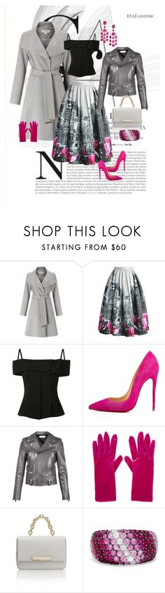 """""""IMAGE KOLLECTION"""" by imagekollection on Polyvore featuring Miss Selfridge, Chicwish, Theory, Christian Louboutin, Yves Saint Laurent, Balenciaga, Amanda Wakeley, Effy Jewelry and Ivy"""