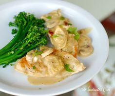The Enchanted Cook: Chicken in Creamy Lemon, Artichoke and Mushroom Sauce
