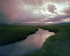 Joe Maloney, Odell spring creek, Montana, 1996