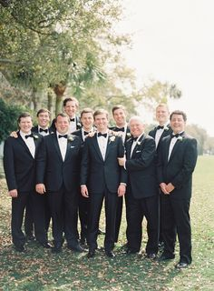 The groomsmen: http://www.stylemepretty.com/2016/07/08/classic-hilton-head-wedding/ | Photography: Heather Payne Photography - http://heatherpaynephotography.com/
