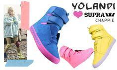 Yo Landi Visser sneakers Chappie movie Supra