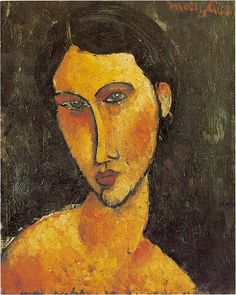 Italian painter and sculptor Amedeo Modigliani: Portraits of the… Amedeo Modigliani, Modigliani Paintings, Italian Painters, Italian Artist, Portrait Art, Oeuvre D'art, Painting & Drawing, Fine Art, Blue Eyes