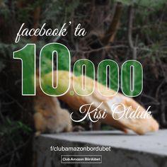 Günaydınlar, herkese keyifli haftalar diliyoruz.  Facebook'ta 10.000 kişilik büyük bir aile olduk! Herkese teşekkürler.