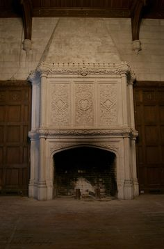 Briarcliff-Music Room Fireplace, via Flickr.