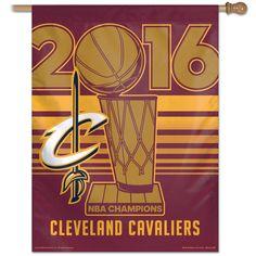 "Cleveland Cavaliers WinCraft 2016 NBA Finals Champions 27"" x 37"" Vertical Banner-$27"
