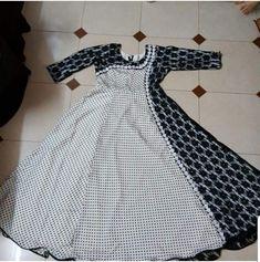 Latest Pakistani Dresses, Indian Gowns Dresses, Stylish Dresses For Girls, Simple Dresses, Baby Frock Pattern, Kalamkari Dresses, Beautiful Dress Designs, Churidar Designs, Sleeves Designs For Dresses