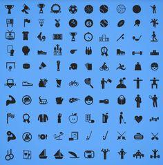 100 Free Sport Icons