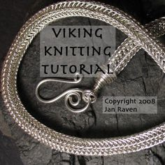 Viking Knitting Tutorial Learn to Weave Wire with this by janraven