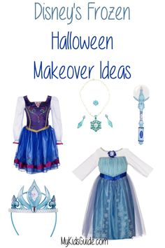 Disney's Frozen Halloween Makeover Ideas: Every little girl fell in love with Elsa and Anna last year when Disney's Frozen made its appearance.  This year check out these great Disney's Frozen Halloween Makeover Ideas that are sure to make your little girl look and feel just like the princess she is.