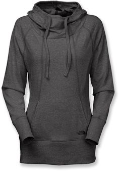 Layer it over a tank top before and after yoga sessions—The North Face Women's Greta Pullover Hoodie