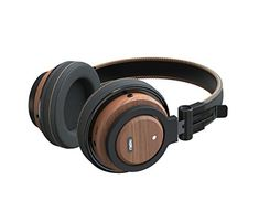 Wireless Headphones Over Ear Foldable Genuine Wood Bluetooth Headset Soft MemoryProtein Earmuffs with Builtin Mic and Wired Mode Phone Control for Computer HeadsetCell Phone HeadsetWalnut Wood >>> Check out this great product. (This is an affiliate link) #BluetoothHeadphones
