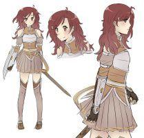 A Sword Art Online Oc from Devianart | Made by: HatoriKumiko  | Link: http://www.deviantart.com/art/SAO-OC-333061598