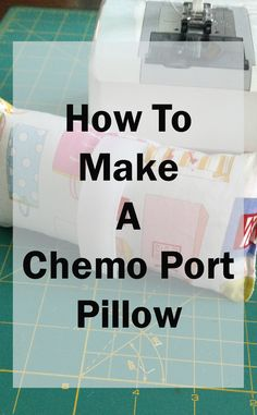 Sewing Pillows Make a chemo port pillow from fabric scraps! They are not only a nice gift for people going through chemo, but also something to donate to a local hospital. Chemo Care Package, Cancer Care Package, Chemotherapy Care Package, Chemotherapy Gifts, Sewing Tutorials, Sewing Hacks, Sewing Projects, Sewing Ideas, Sewing Tips