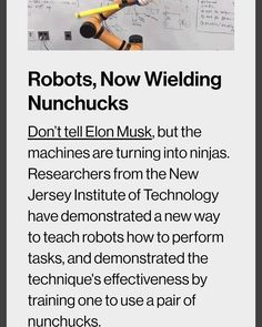Can artificial intelligence learn how to use nunchucks? #munchmath #nunchucks #Brucelee #charlestonsc #artificialunintelligence