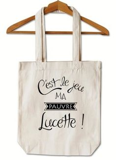 """Tote Bag """"Lucette"""" Sacs Tote Bags, Diy Tote Bag, Cotton Tote Bags, Canvas Tote Bags, Reusable Tote Bags, Sac Tods, Tods Bag, Sweet Bags, Pouch Tutorial"""