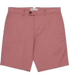 Mens Rose Tailored Chino Shorts - Reiss Wicker