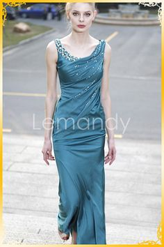 Beautiful color! Satin beaded dress. Any s/c. $2,903.23 MXN by Lemandy at Etsy