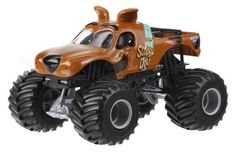 AmazonSmile: Hot Wheels Monster Jam Scooby Doo Die-Cast Vehicle, 1:24 Scale: Toys & Games