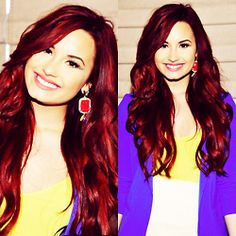 Demi Lovato's Hair always look beautiful !