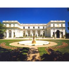 The Rosecliff Mansion in Newport, RI
