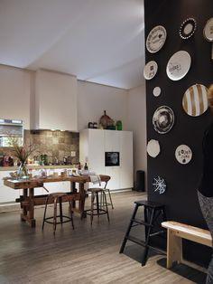 Risultati immagini pro old workbench vtwonen - Home Page Kitchen Interior, Kitchen Inspirations, Bedroom Wall Designs, Interior, Interior Inspiration, Home, Home Kitchens, Kitchen Styling, Interiors Magazine