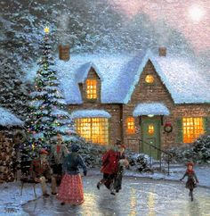34 Magical Christmas Animated Gifs To Put You In The Holiday Spirit Magical Christmas, Christmas Past, Beautiful Christmas, Winter Christmas, Christmas Lights, Merry Christmas Gif, Holiday Gif, Winter Snow, Victorian Christmas