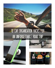 10 Car Organisation Hacks for an Unforgettable Road Trip. Check out these cool travel hacks...