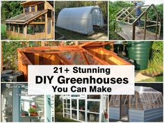 One of the best benefits of a garden greenhouse is that it allows you to grow throughout the entire year. Additionally, greenhouses help regulate temperature and humidity and improve pest control. Whether your garden is for hobby or live in a more self-su Build A Greenhouse, Greenhouse Gardening, Gardening Tips, Greenhouse Ideas, Homemade Greenhouse, Greenhouse Wedding, Outdoor Greenhouse, Indoor Gardening, Container Gardening