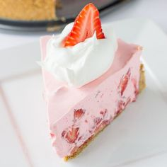 Hey everyone! It's Jenn back from Deliciously Sprinkled with a delicious, no-bake pie recipe perfect for summer! This No-Bake Strawberry & Cream Pie is a family favorite around our house. It's light, it's refreshing, and you don't even have to turn on your oven to make this pie. The graham cracker crust has a hint …