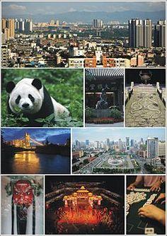 Chengdu, Sichuan provinse China