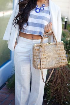 white linen pants | kailaniskorner.com » Fashion Ideas, Fashion Inspiration, Women's Fashion, Fashion Tips, Fashion Trends, Linen Pants Women, Pants For Women, Clothes For Women, Vacation Wear